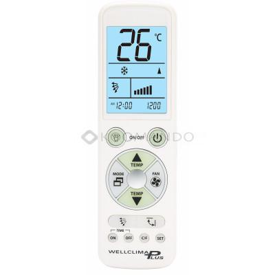 telecomando universale condizionatore samsung wellclima plus