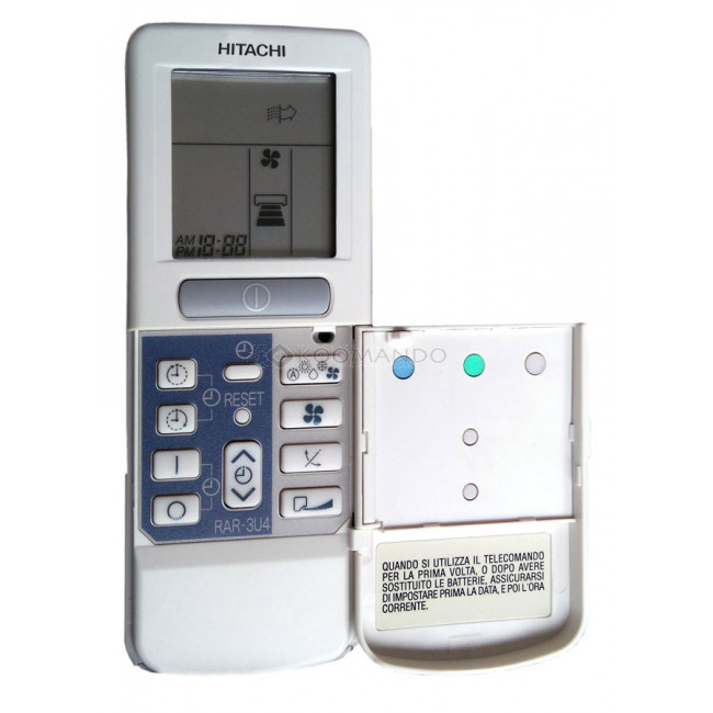 M ugast Sostituzione Telecomando di Climatizzatore Multifunzione per Hitachi RAR-2A1 RAR-52P1 RAR-2SP1 RAR-3U4 RAR-2P2