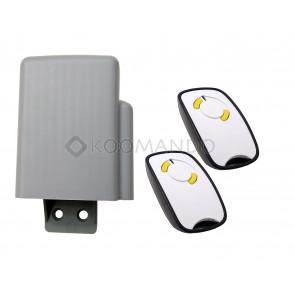 kit 868 mhz con telecomandi rolling code