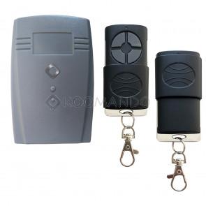 kit ricevitore con 2 telecomandi