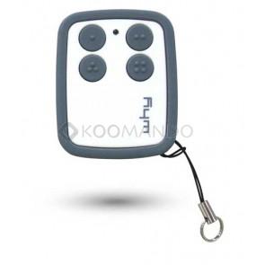 Telecomando radiocomando rolling code Why Hoppy 868 compatibile o&o